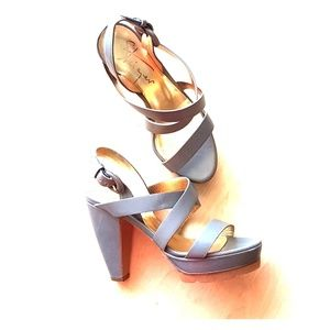 Walter Steiger hand made in Italy platform shoes